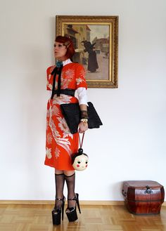 The wardrobe of Ms. B: Silver Crane