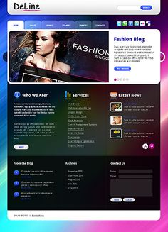 Deline Design WordPress Themes by Svelte