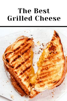 Need something new to grill? Try this amazing Grilled Cheese! This is not some ordinary Grilled Cheese...This is THE Grilled Cheese! The Toasted Pine Nut Best Grilled Cheese, Grilled Cheese Recipes, Sandwich Recipes, Lunch Recipes, Summer Recipes, Dinner Recipes, Healthy Cookie Recipes, Healthy Cookies, Healthy Baking