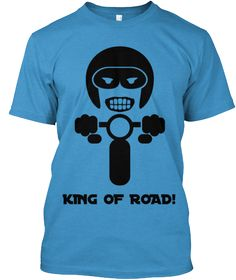 #BikeRiders, Are you King of Road? If so then here is an exclusive #tshirt