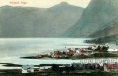 AURLAND, In Sogn 1900