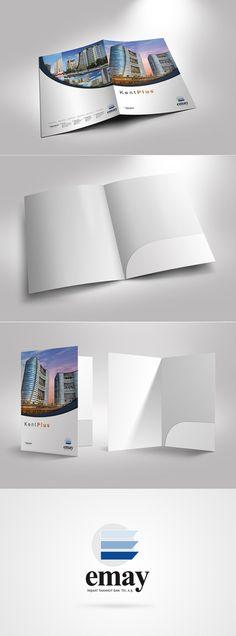 Emay Insaat Folder by Sedat Gever, via Behance