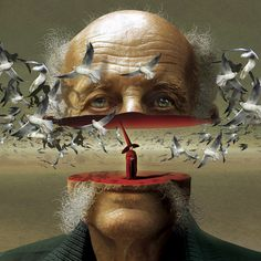 Surreal Illustrations by Igor Morski. Check out the rest of his work. Great detail and narratives in his work.