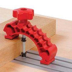 Knuckle Clamp voor gebruik in T-Tracks. Onmisbare gereedschap accessoire. Gereedschappro.nl