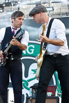 Robert Schmidt and Dennis Casey, the two cutest guys in Flogging Molly.