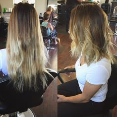 Long bob | Before & After