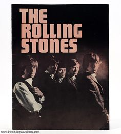 1595: The Rolling Stones 1964 First U.S. Tour Program Carnegie Hall, N.Y. w/ Error Print - Store - Backstage Auctions, Inc.