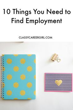 Resumes, cover letters and other important career documents. What? You think that sounds boring? Don't worry. I'll make it fun and it won't even be that hard. http://www.classycareergirl.com/2016/02/employment-find/
