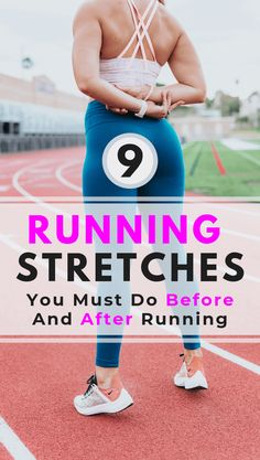 9 running stretches you must do before and after running Running stretches are important as they prevent you from getting injured and help prepare you for exercise. Stretches Before Running, Stretches For Runners, Yoga For Runners, Running Workouts, Running Tips, At Home Workouts, Stretching Exercises, Dynamic Stretching For Runners, Runners Stretch