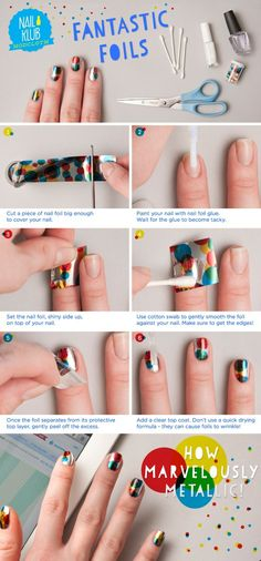 Amazing Metallic Nail Tutorial