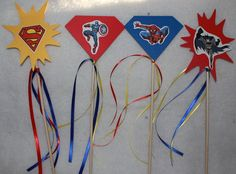 Super hero wands