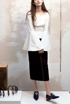 Madison Black Cotton Skirt