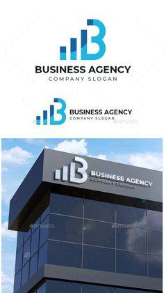 Business Agency Logo Template Vector EPS