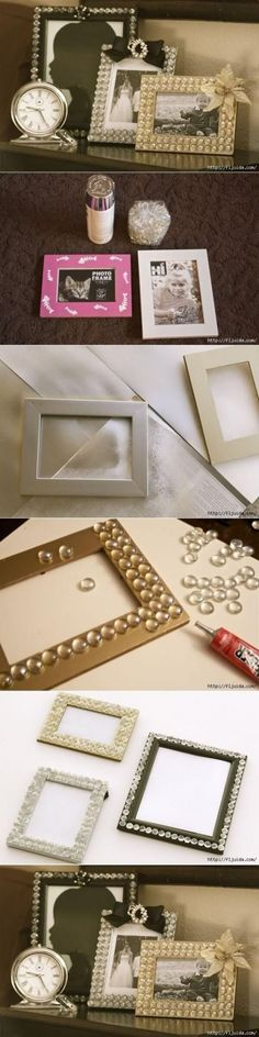 Glam Up Your Frames with Glass Gems