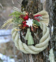しめ飾り     Japanese new year wreath