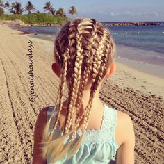 multiple french braids - Google Search