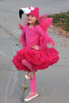 kids flamingo halloween costume  | Kids Matter: Monday Meanderings - Halloween Costumes