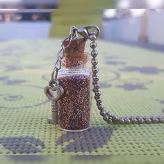 Decorative Bottles, Homemade, Chain