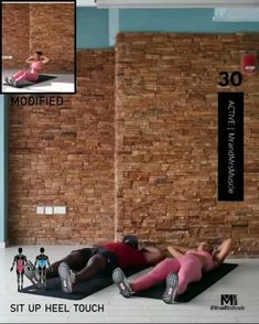 Fitness Workouts, Full Body Hiit Workout, Hiit Workout At Home, Gym Workout Videos, Fitness Workout For Women, Body Fitness, At Home Workouts, Sixpack Training, Workout For Beginners