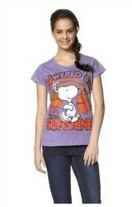 Snoopy T-Shirt Comicshirt mit Aufdruck. In frischen Pastelltonen Gr.34 NEU | eBay