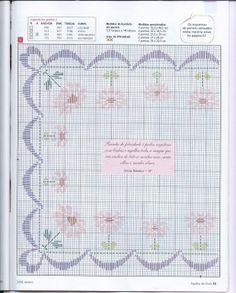 Ponto Reto - toalhas p/ bandeja - gráfico 5