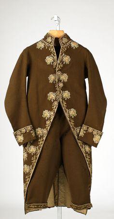 Suit, 18th century