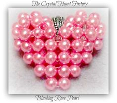 Pink Jewelry Breast Cancer Awareness Cancer Sucks Pink Pearl Necklace Heart Charm Pendant Anniversary Bridesmaid Wedding on Etsy, $25.00