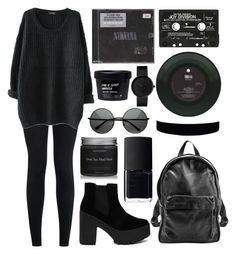 """"""""""" by dementedaggression on Polyvore featuring New Look, Truffle, Sunday Somewhere, NARS Cosmetics and ZeroUV"""