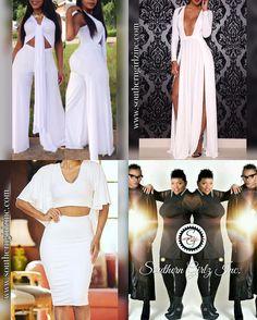 #AllWhiteParty outfitS! Visit our website SouthernGirlzInc.com #shoponline #onlineboutique #fashion #southerngirlzinc #womensfashion #onlinestore #onlineshopping #ootd #clothingstore #instastyle #bodycon #summer #newfashion #style #instafashion #fashionista #onlineshop #sheslays #allwhiteeverything #stylish #allwhiteaffair #memorialdayweekend #allwhite #yachtparty #dayparty by sgirlzinc