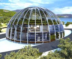 """""""House of Horus"""". Built on a private island off the coast of Turkey called """"Isla Playa de Cleopatra"""". (owned by Naomi Campbell)"""