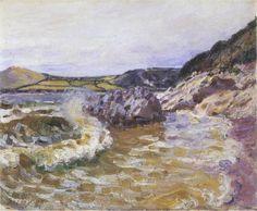 'Lady s Cove', öl auf leinwand von Alfred Sisley (1839-1899, France)