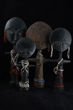 Dolls from the Ashanti people of Ghana