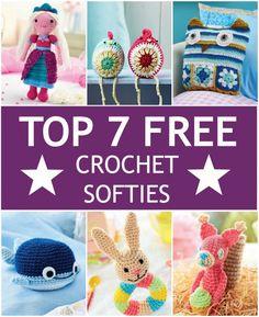 Top 7 Free Crochet Softies