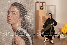 Fashion Copious - Mariacarla Boscono for Sportmax FW 16.17 Campaign by Roe Ethridge