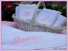 Toallas bordadas, personalizadas para souvenirs