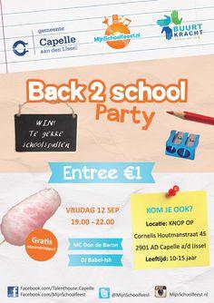 jongerenfeest schoolfeest open feest organiseren capelle 's-gravenland suikerspin mijn schoolfeest MijnSchoolfeest.nl