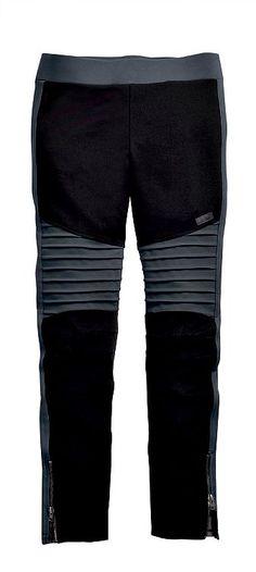 248d092a7191 Harley-Davidson® Women s Black Label Moto-Inspired Leggings