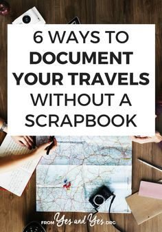 Do you want to document travel without a scrapbook? You like capturing memories but you don't want to spend 10+ hours pasting them into a scrapbook? These tips for capturing travel memories are easy and sweet!