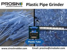 A large quantity of waste plastic pipes are generated, and we need to dispose them properly. Contact PROSINO team for a size reduction solution when you need to recycle plastic pipes. Gas Supply, Water Supply, Why Recycle, Plastic Raw Material, Plastic Drums, Recycling Process, Types Of Plastics, Grinding Machine, Metal Pipe
