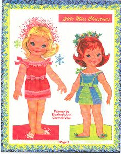 Little Miss Christmas and Holly Belle
