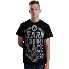 Like Moths To Flames - Learn Your Place - T-Shirt Merch Store - Impericon.com UK