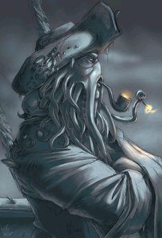 POTC - Davy Jones by ~wynahiros on deviantART