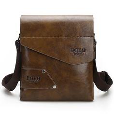 af5f7a365f77 FANKE POLO Brand Men s Business Bags PU Leather Man Handbags Men Messenger  Bag Quality Men s Travel Bag over His Shoulder VP 17-in Crossbody Bags from  ...