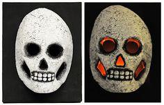 D.I.Y. Glowing Skull