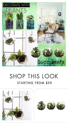 """""""Untitled #213"""" by gissela540 ❤ liked on Polyvore featuring interior, interiors, interior design, home, home decor, interior decorating, PBteen, plants and planters"""