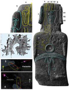 Arte rupestre Rapa Nui isla de pascua Hiva Moai Rapa Iti Ancient Mysteries, Ancient Artifacts, Ancient Aliens, Ancient History, Easter Island Statues, Machu Picchu, Stone Carving, Ancient Civilizations, Black History