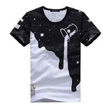 2015 nuova linea uomo Estate cotone Tops T-Shirt T Shirt