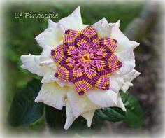 Le Pinocchie: Mandala in micromacramè