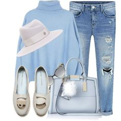 Untitled #3508 by monmondefou on Polyvore featuring мода, River Island, Maison Michel, Jimmy Choo, women's clothing, women's fashion, women, female, woman and misses