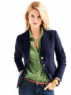 Talbots Classic Blazer - great with jeans or for dressier occasions.
